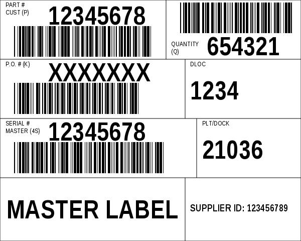 AIAG B-10 Customer Master