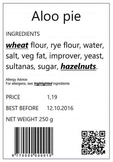 欧盟营养标签