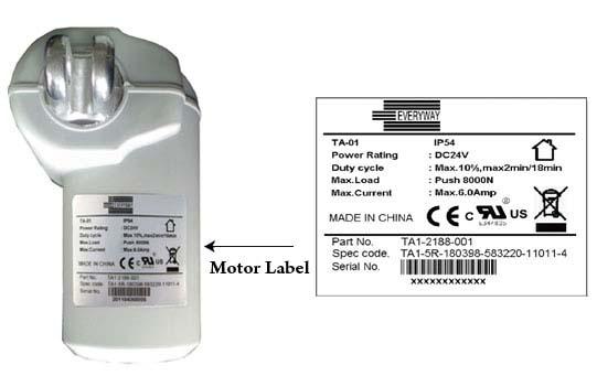 汽车零件标签