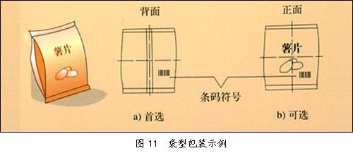 袋型包装示例