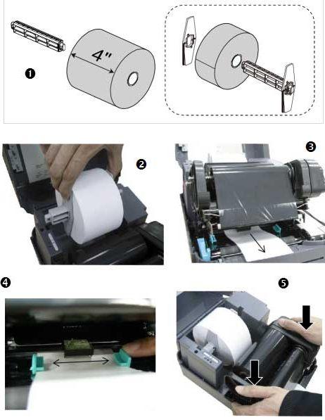 如何安装标签纸