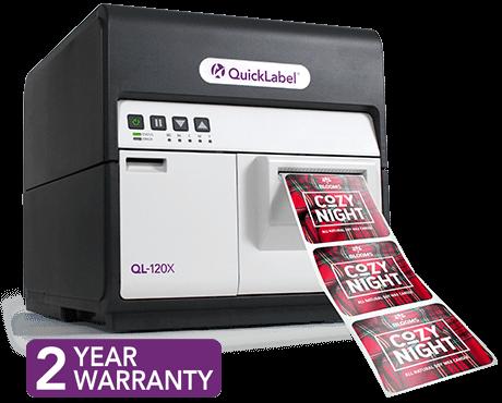 QL-120X专业的桌面数字标签打印机