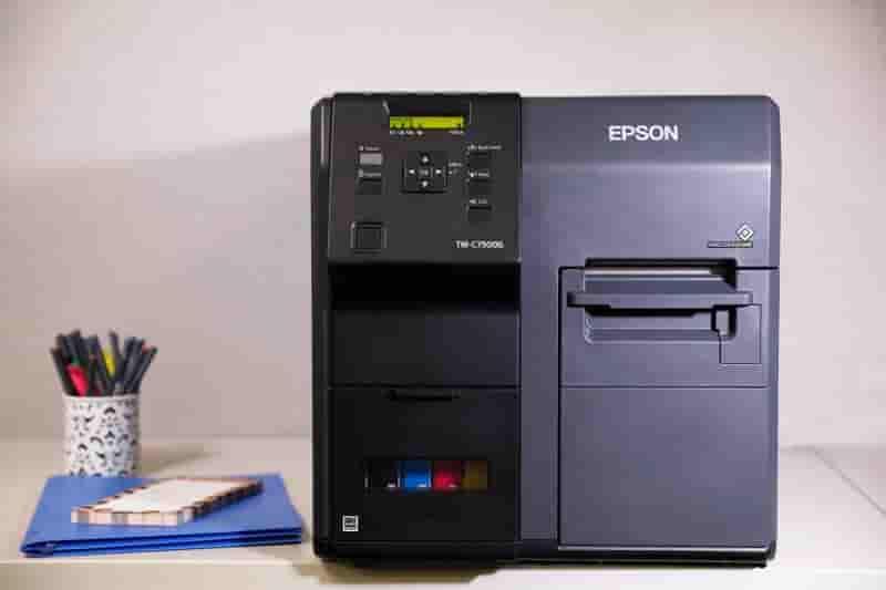爱普生喷墨标签打印机